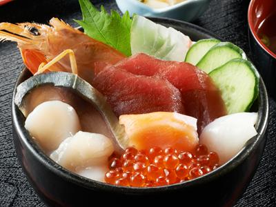 海鮮丼「楓」
