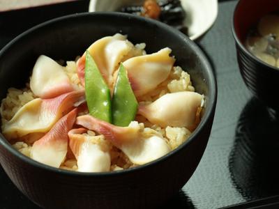 仙臺魚河岸のほっき飯