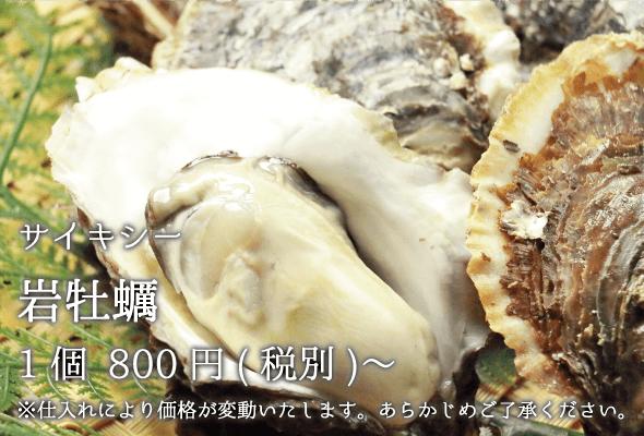 サイキシー_岩牡蠣