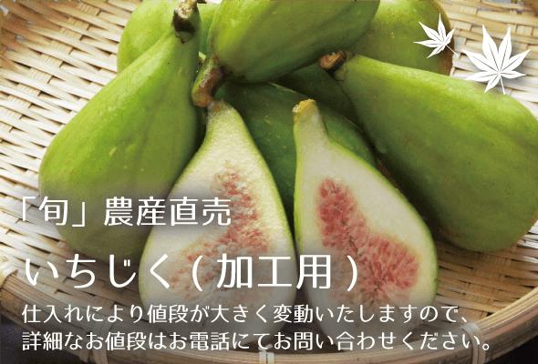 旬農産直売 いちじく(加工用)