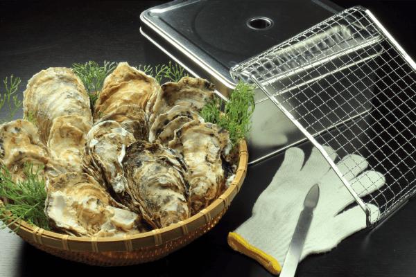牡蠣のカンカン浜焼きセット