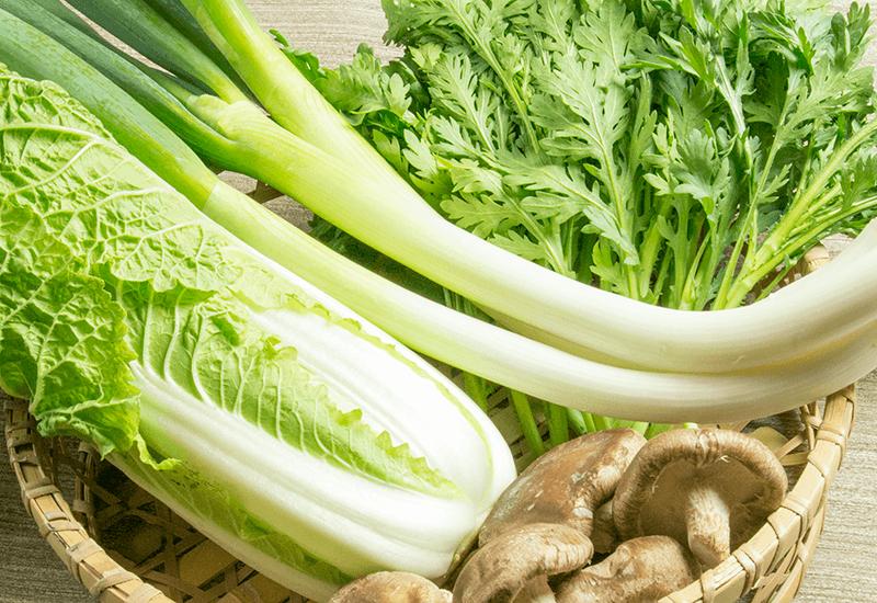長ねぎ 白菜