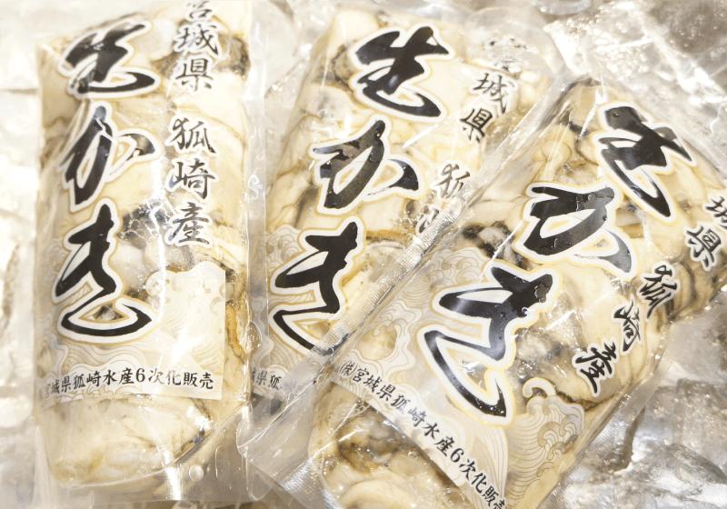 石巻狐崎浜産 生牡蠣(剥き身)
