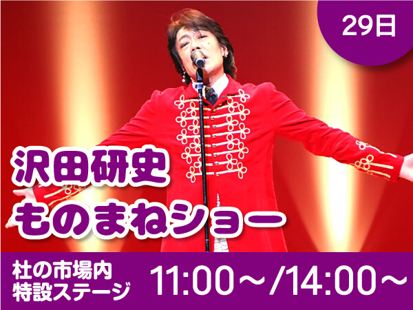 29日 沢田研二ものまねショー